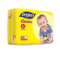 Tã Dán Drypers Classic Cực Đại L60 (60 Miếng) thumbnail