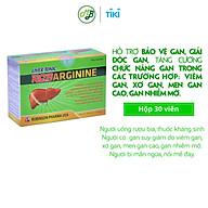 TPCN viên uống BỔ GAN ROBARGININE hỗ trợ bảo vệ gan,giúp giải độc gan,ngăn ngừa viêm gan,sơ gan-hộp 30 viên nang mềm thumbnail