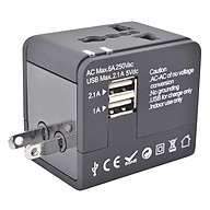 Adapter Sạc Du Lịch 2 Cổng USB Ceomate CME-AD01-3 thumbnail