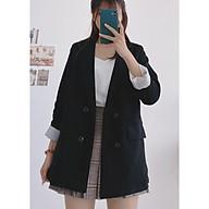 Áo Blazer Vest Vải Tuyết Nhung 2 Lớp Freesize 53kg - A.053 thumbnail