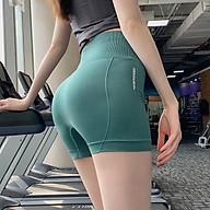 Quần Đùi Tập Gym, Tạp Yoga Nâng Mông, Lưng Siêu Cao Tôn Dáng Cho Nữ - Tặng 1 kẹp trái tim thumbnail