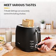 Máy nướng bánh mì thương hiệu Shardor TS515B-ELF - Công suất 800W - 7 cài đặt nướng - Chất liệu Thép không gỉ - HÀNG NHẬP KHẨU thumbnail