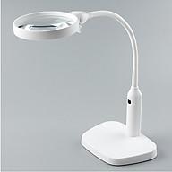Kính lúp để bàn có đèn tích hợp kẹp bàn đa năng K7763 (Tặng kèm miếng thép đa năng 11in1) thumbnail