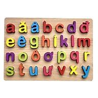 Bảng gỗ chữ số nổi - Totdepre1096 thumbnail
