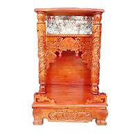 Bàn thờ gỗ Xoan Đào ngang 42 quỳ trụ hộp đèn thumbnail
