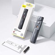 Bút Laser trình chiếu Baseus Orange Dot Wireless Presenter - Hàng chính hãng thumbnail