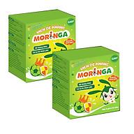 COMBO 2 Hộp Viên đề kháng Moringa - Giúp tăng sức đề kháng, phòng tránh các bệnh thường gặp ở trẻ em - Hộp 8 gói thumbnail