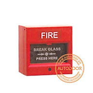 Nút khẩn cấp cảnh báo FIRE màu đỏ thumbnail