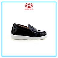 Giày Lười Cho Bé Trai CrownUK Boat Crown Space Cruk436 Chất Liêu Da Cao Cấp Thoáng Khí Thấm Hút Mồ Hôi Cho Trẻ Size từ 26-31 2-14 Tuổi thumbnail