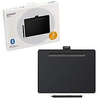 Bảng Vẽ Đồ Họa Điện Tử Wacom Intuos M CTL 6100WL Hỗ Trợ Kết Nối Bluetooth Sử Dụng Bút Không Pin Với Công Nghệ EMR 4096 Lực Nhấn - Hàng Chính Hãng thumbnail