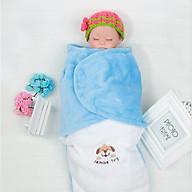 Chăn ủ kén lót lông giữ ấm cho bé sơ sinh vào mùa lạnh thumbnail