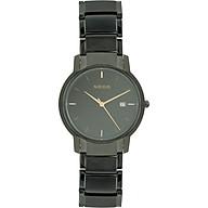 Đồng hồ Neos N-30853M nam dây thép đen thumbnail