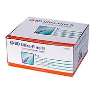 Bơm kim tiêm tiểu đường Insuline BD 1cc x 30G (Hộp) - hộp 100 cây thumbnail