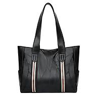 Túi xách tay đeo vai nữ công sở T19 size lớn 36x28x12cm (Đen) thumbnail