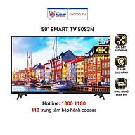 Smart Tivi Netflix 4K UHD Coocaa 50 inch - Model 50S3N - Hàng chính hãng thumbnail