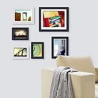 Bộ 6 Khung ảnh Treo Tường KAD602 Miễn phí phụ kiện. thumbnail