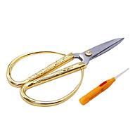 Kéo Cắt Hoạ Tiết Rồng Phụng 2 - Tặng dụng cụ ráy tai có đèn thumbnail