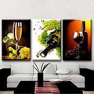 Tranh đồng hồ 3 bức nhà bếp HLB_267-40cmx60cmx3 bức thumbnail