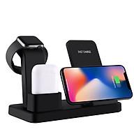 Đế Sạc Không Dây Đa Chức Năng Cho Apple Watch & Iphone & AirPods US02- Hàng chính hãng thumbnail