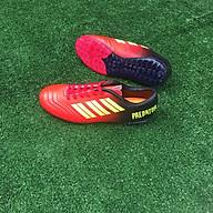 Giày đá bóng nam sân cỏ nhân tạo - 9999 màu đỏ đen thumbnail