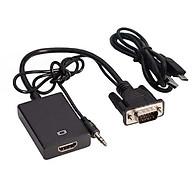 Cáp Tín Hiệu Chuyển Đổi VGA sang HDMI Có Audio - VGA to HDMI có AV thumbnail