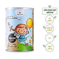 Sữa Hạt Hữu Cơ Miwako Hộp 400g Không Đường Vị Gạo - Thúc Đẩy Khả Năng Nhận Thức & Kiểm Soát Cảm Xúc Cho Trẻ 1+ thumbnail