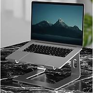 Giá đỡ nâng laptop stand hợp kim nhôm hỗ trợ tản nhiệt cho Macbook và laptop CR06 Vu Studio - Hàng chính hãng thumbnail