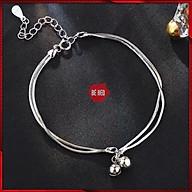 Lắc tay titan chuông đôi phong cách Hàn Quốc - Trang sức Bé Heo BHLT178 thumbnail
