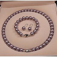Bộ Trang sức Ngọc Trai CAO CẤP SIÊU PHẨM hàng chuẩn bao đẹp thumbnail