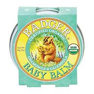 Sáp Hữu Cơ Dưỡng Da Cho Bé Badger Baby Balm - Dưỡng ẩm và bảo vệ da bé, chứng nhận USDA Organic - 2oz (56g) thumbnail