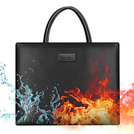 Fireproof Money & Document Bag Fire and Water Resistant Large Safe Bag Storage Pouch Organizer with Handle Zipper thumbnail