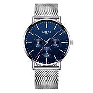 Đồng hồ thời trang công sở nam NIBOSI chính hãng NI2321-1.04 fulbox, chống nước - Chạy full 6 kim, mặt kính Mineral, dây thép lưới cao cấp không gỉ thumbnail