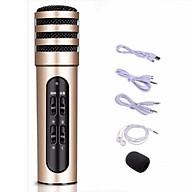 Micro Livestream C7 , tặng tai nghe ,Thu Âm Hát Karaoke Livestream 3 in 1 ( giao màu ngẫu nhiên ) thumbnail