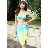 Đồ Bơi Hai Mảnh Khăn Choàng Họa Tiết Cầu Vồng MAY_ATR600 thumbnail