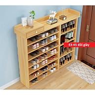 Kệ để giày đơn giản hộc tủ nhỏ lưu trữ thích hợp cho gia đình nhiều tầng đẹp thumbnail