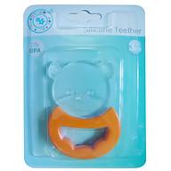 Bộ 2 sản phẩm ngậm nướu hình gấu, ếch cho bé. AM22501 Thái Lan. thumbnail