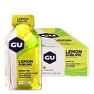 Gel Năng Lượng GU Energy Vị Chanh Lemon Sublime (24 Gói Hộp) thumbnail