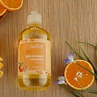 Dầu massage body Cam ngọt dành cho Spa và Gia Đình - Dưỡng da, Thư giãn 500ml thumbnail