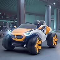 Ô tô xe điện mẫu địa hình khủng XJL 688 đồ chơi cho bé 4 động cơ 12V 7A 2 ghế thumbnail