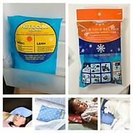 Túi gel đa năng công nghệ Nhật Bản - HOT & COLD GEL PACK - chườm nóng lạnh, túi đá gel giữ nhiệt bảo quản thực phẩm thumbnail