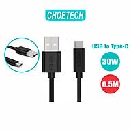 Dây Cáp Sạc Điện Thoại USB to USB Type C 30W Dài 0.5M Đến 2M CHOETECH AC0001 AC0002 AC0003 - Hàng Chính Hãng thumbnail