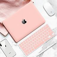 Combo ốp kèm phủ phím màu Hồng Pastel bảo vệ cho Macbook đủ dòng thumbnail