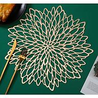Lót bàn ăn hoa mặt trời, phụ kiện bàn ăn, phụ kiện chụp ảnh thumbnail