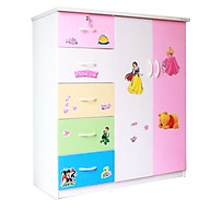 Tủ nhựa Đài Loan 2 cánh 5 ngăn T303 (Phối nhiều màu) thumbnail