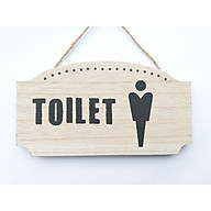Bảng treo chỉ dẫn toilet 23.5 12.5 0.6 thumbnail