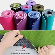Thảm Tập Yoga, Gym AmandaC Life (Giao Màu Ngẫu Nhiên) thumbnail