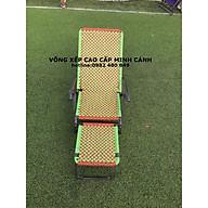 Ghế xếp dây đan đài loan khung sơn tĩnh điện thumbnail