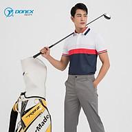 Áo Thể Thao Chơi Golf Nam DONEXPRO Form Classic, In Chuyển Nhiệt Hoa Văn, Bền Màu, Vải Ltex 635 MC-9048 thumbnail