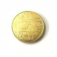 Xu 3 Con Trâu màu Vàng, phong thủy may mắn cho những người hợp năm tuổi, dùng trưng bàn sách. mang theo trong túi - SP002427 thumbnail