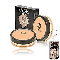 Kem che khuyết điểm Aroma Cover Foundation Hàn Quốc 14g No.21 Light Beige tặng kèm móc khoá thumbnail